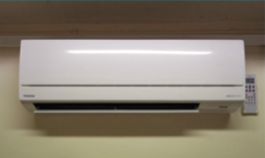 R410A split air-conditioning unit converted to RS-53 (R470A) & operating satisfactorily without any problems